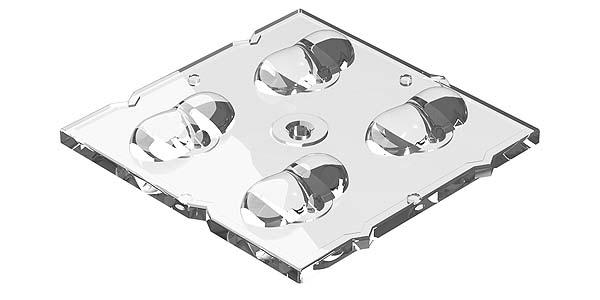 """Nuevas ópticas y reflectores para el sistema LED """"BJB OEM-Line"""