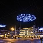 Color y diseño sobre el cielo de Madrid