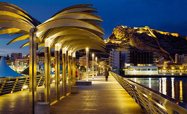 Iluminación del Puerto de Alicante