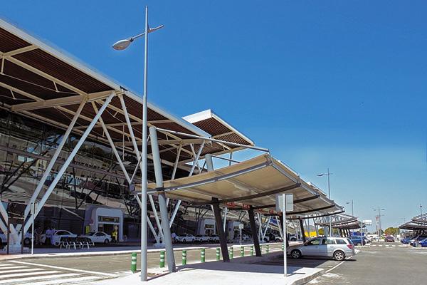 Iluminación del entorno del Aeropuerto de Zaragoza