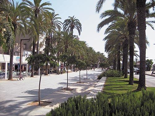 Paseo del Carme de Vilanova i la Geltrú