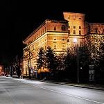 LED en la iluminación de áreas urbanas