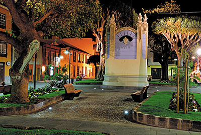 Plaza de la Concepción de San Cristobal de La Laguna