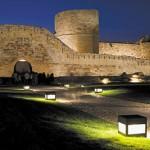 Iluminación del Castillo de Zamora