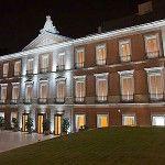 Iluminación de las fachadas  del Palacio Villahermosa. Museo Thyssen – Bornemisza