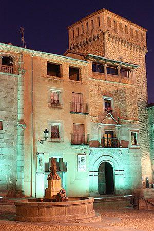 Plaza de San Martín de Segovia