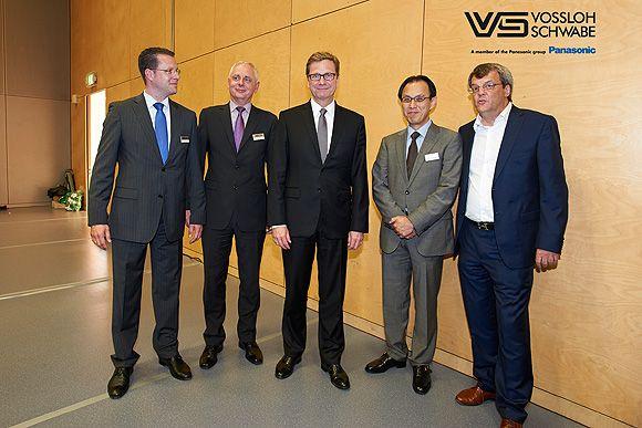 El ministro de Asuntos Exteriores alemán se reúne con Vossloh-Schwabe