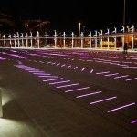 BrumRuum! combina color y sonido a través de 9396 LEDs incrustados en un área de 3.300 metros cuadrados