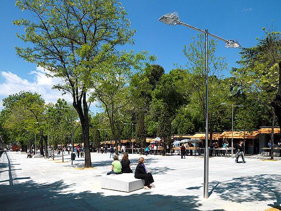 Cómo iluminar parques
