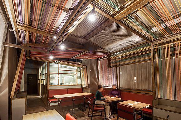 Vista del interior del restaurante Pakta