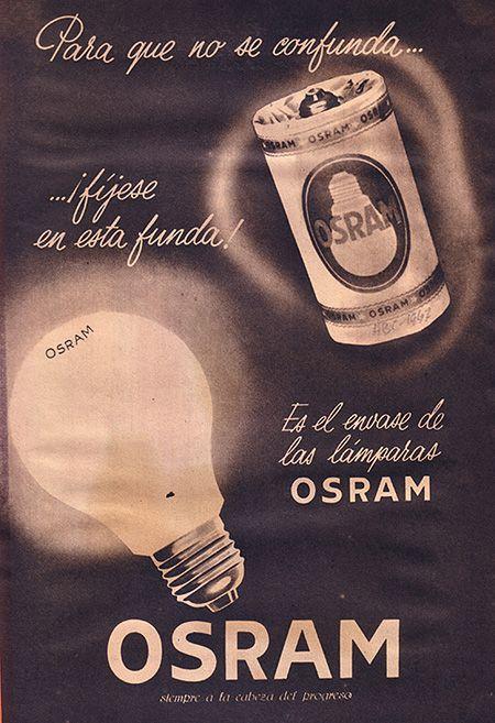 Publicidad Osram Para que no se confunda 450