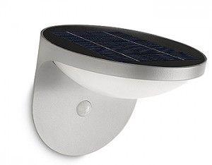 Luz del sol convertida en iluminación LED con myGarden Solar de Philips
