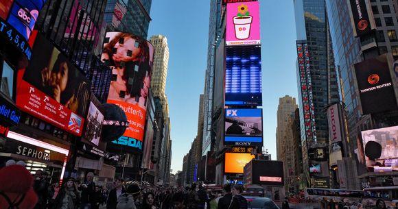Imagen actual de Times Square
