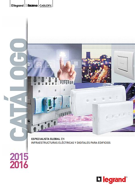 Catalogo General de Legrand 2015-2016