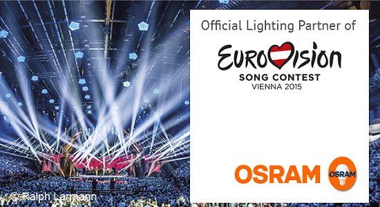 El Festival de Eurovisión brillará con la iluminación de OSRAM