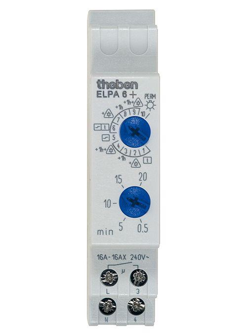 Nuevo interruptor automático de escalera ELPA 6 plus de Theben