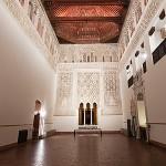 Sala de oración de la sinagoga del Tránsito. Museo Sefardí. Toledo