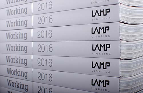 working 2016 lamp