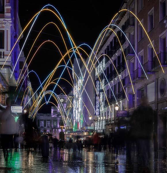 calle preciados navidad madrid