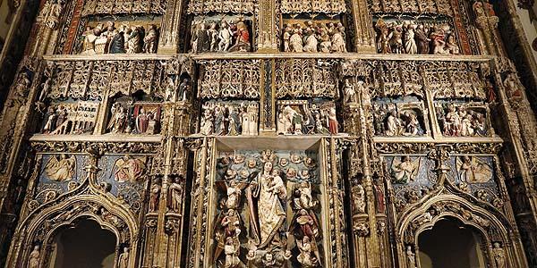 La iglesia del Real Monasterio de Santa María de El Paular estrena nueva iluminación