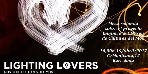 Clúster sobre iluminación y arquitectura en el Museu de Cultures del Mon, Barcelona