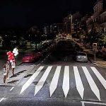 Luz interactiva para proteger vidas en pasos de peatones