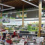 Iluminacion de las tiendas Dehner en Alemania