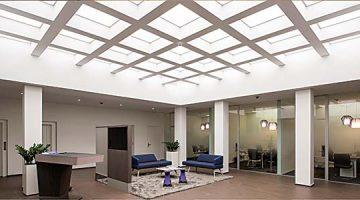 Renovación dinámica. Lograda revitalización de un lucernario con Tunable White
