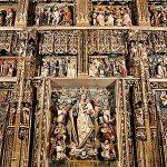 Nueva iluminación ornamental interior de la iglesia del Real Monasterio de Santa María de El Paular