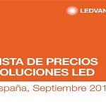 Nueva Lista de Precios Soluciones LED de LEDVANCE