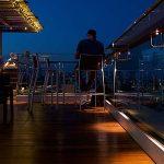 Luz Led para la terraza del Ayre Hotel Rosellón
