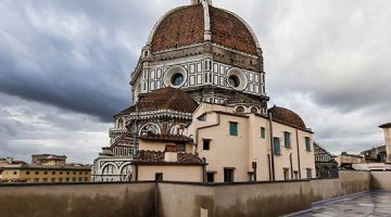 Historia del arte modelada de forma expresiva. Museo del Duomo de Florencia