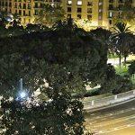 Nueva iluminación en la plaza de Tetuán de Barcelona