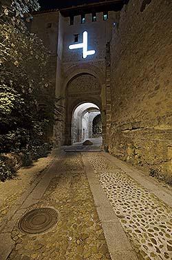 Iluminaciones efímeras en Segovia