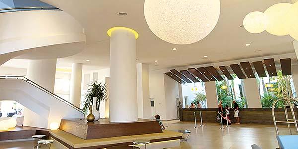 Iluminación led en hoteles
