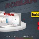 ROBLAN presentarán sus novedades en iluminación en la Light+Building
