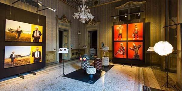 Milán exhibe la colección de lámparas The Others de DEDON