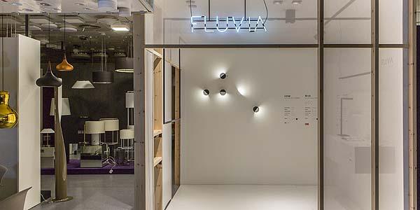 """Fluvia presenta en Oliva Iluminación su """"corner unit"""" con la luminaria Loop"""