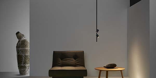 Drop, sistema de Fluvia configurable para crear luminarias de acenturación