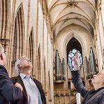Controlador de LED para las luminarias especiales de la catedral de Ulm