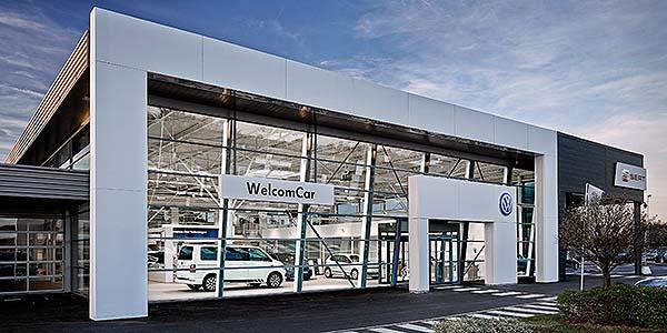 Concesionario Welcomcar Hoche Automobiles en Orleans (Francia)