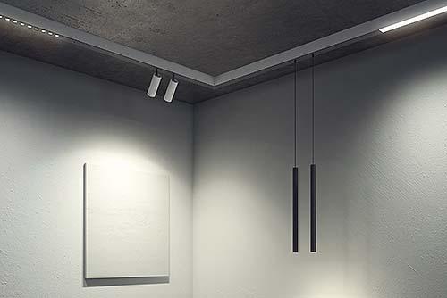 Sistema de iluminación modular Click System de ONOK
