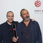 Simon y su marca Fluvia premiados con el Reddot y Reddot Best of the Best