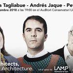 Primera edición en Barcelona de Architects, not Architecture