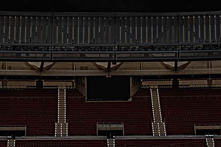 Seguridad en estadios. Iluminación de balizamiento