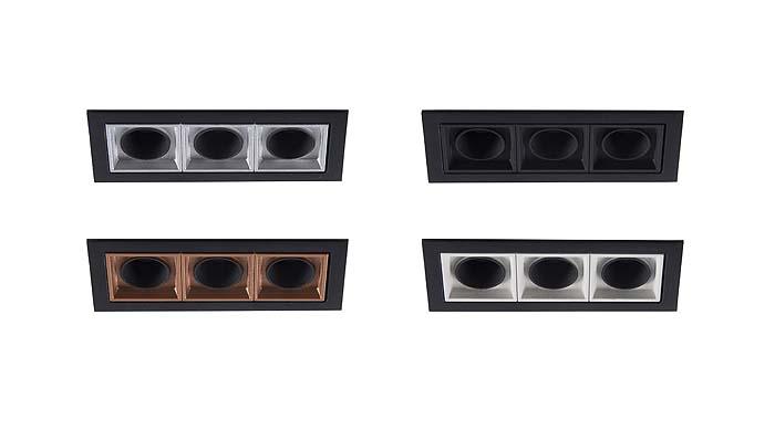 Ocult, la nueva familia de downlight modulares de LAMP