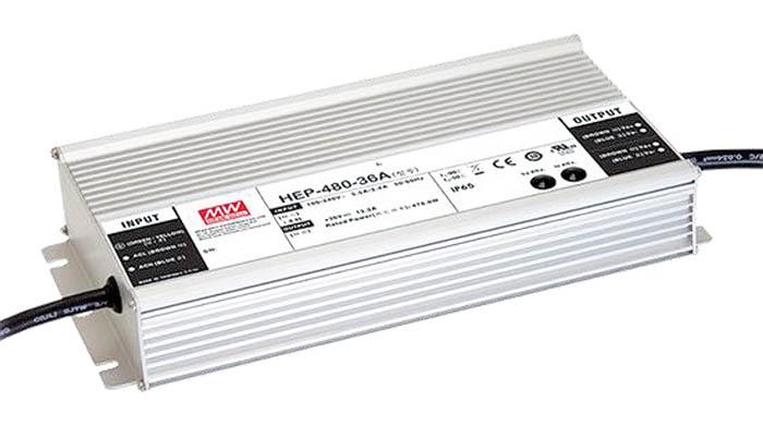 Fuente de alimentación para ambientes extremos: HEP-480A