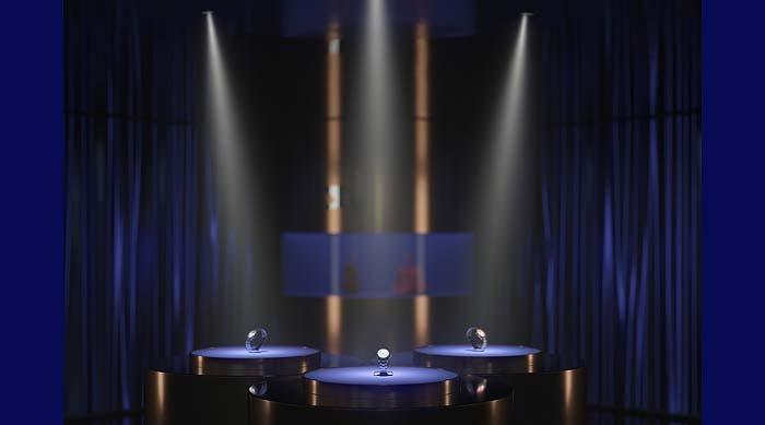 Proyectores Quintessence Pinhole de Erco para iluminación de acento precisa y discreta