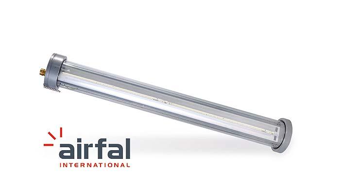 Iluminación ATEX inteligente de Airfal
