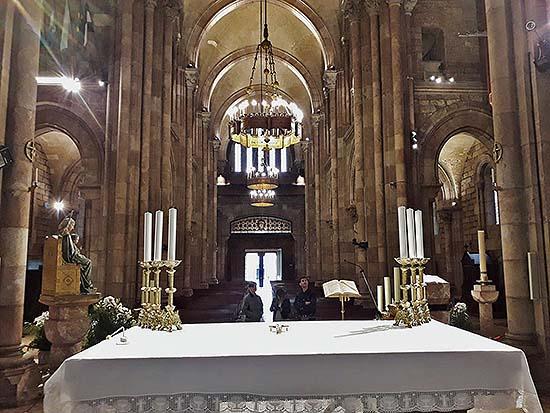 Iluminación de la Basílica de Covadonga, Asturias